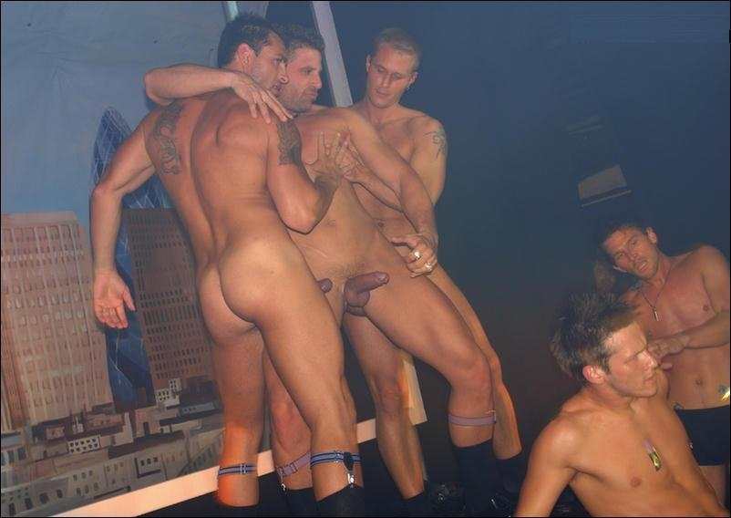 on sex stage strippers male Gay