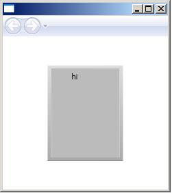 WPF tutorials: Flat 3D button Style