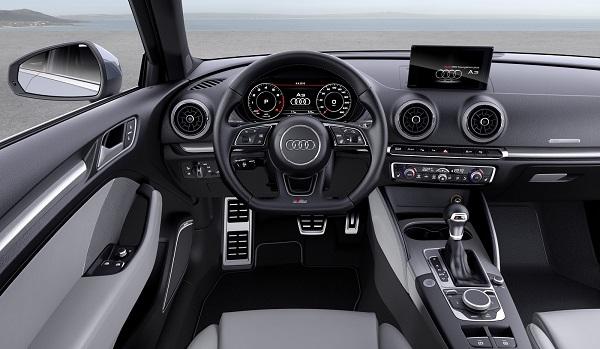 Interior Audi A3 Sedán 2017