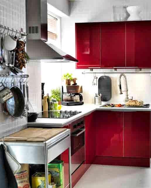 Kitchen Set Ruang Kecil: 63 Gambar Dapur Minimalis Sederhana Mungil Nan Cantik