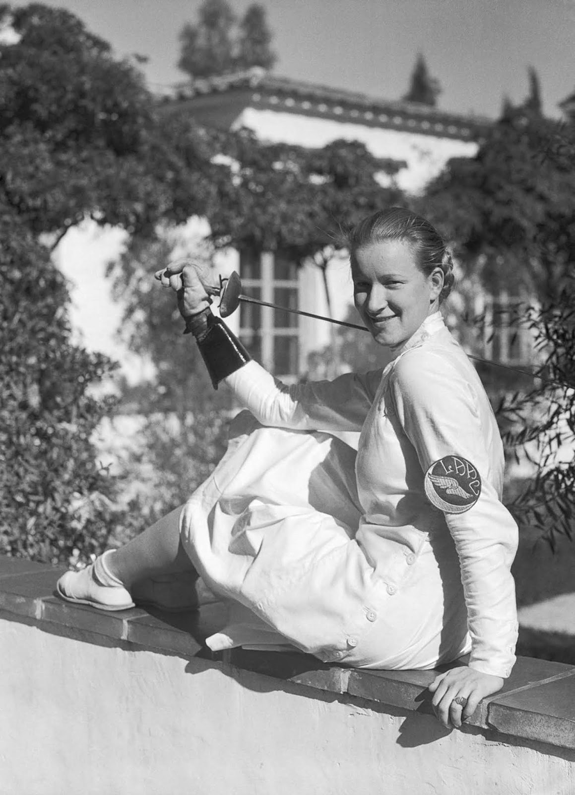 Mayer during her time at Scripps College in California. 1934.