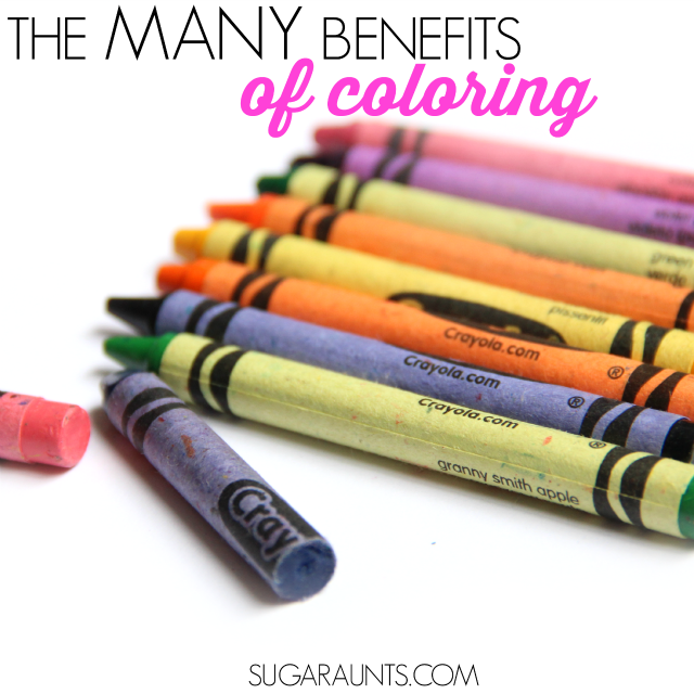 The Many Benefits of Coloring with Crayons | The OT Toolbox