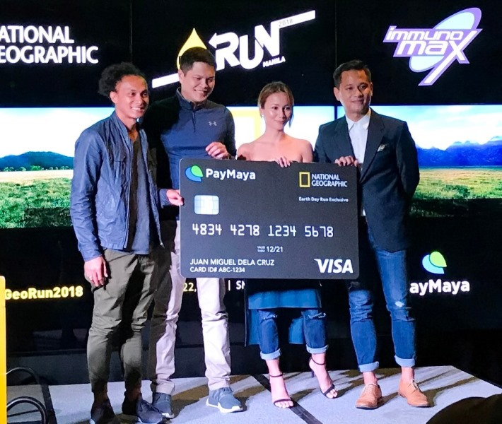 PayMaya Is Giving a Limited Edition National Geographic Card to Nat Geo Run Participants
