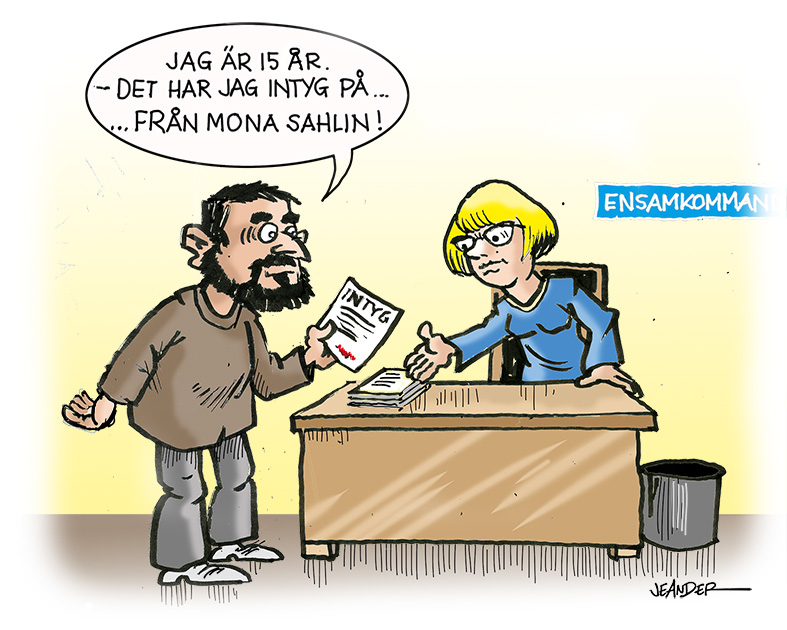 JEANDERS BILDBLOGG: Intyg..