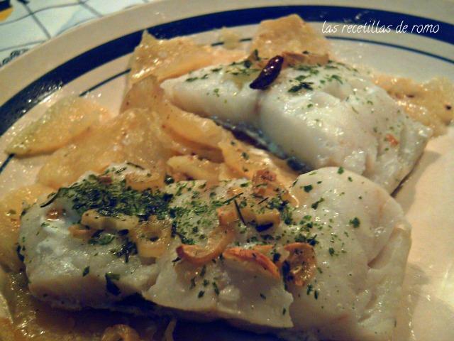 Bacalao fresco al horno las recetillas de romo for Como cocinar bacalao al horno