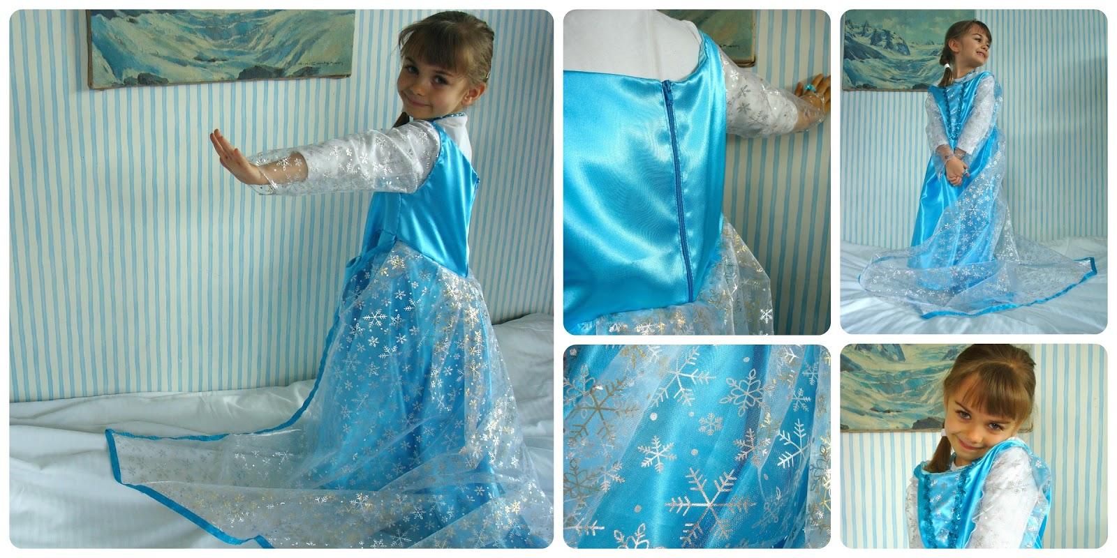 Tadaam d guisement de reine des neiges frozen - Robe reine des glaces ...