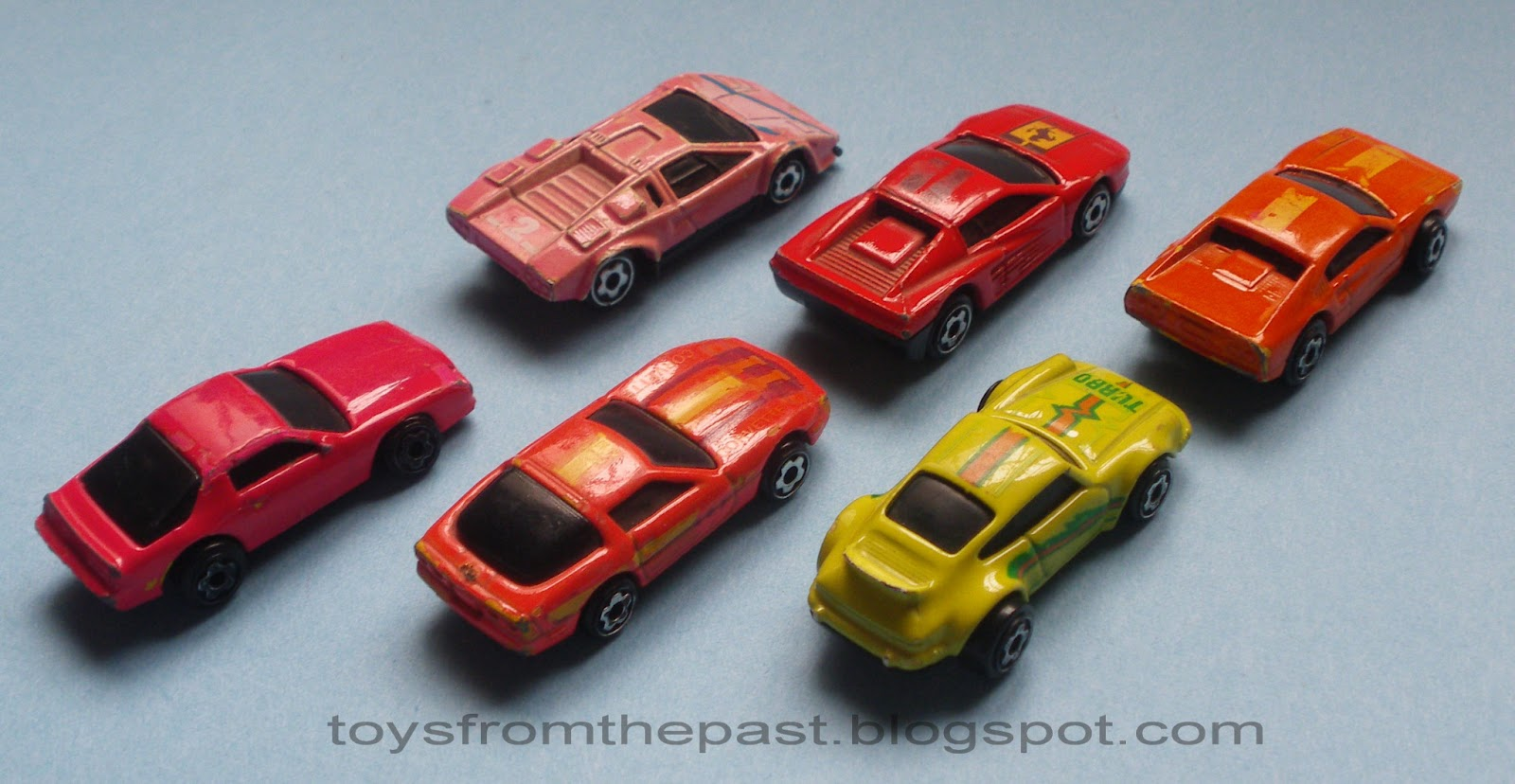 Toys From The Past 281 Hot Wheels Mini Automagic Micro Color Racers 1990