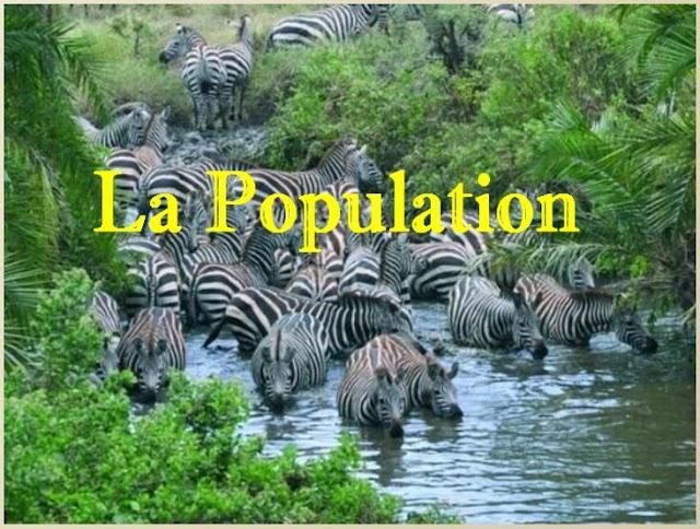 Définition de la Population - Notions