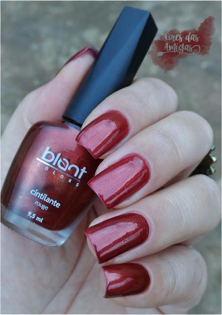 Esmalte Nailpolish Blant Colors Rouge