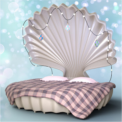 Z Seashell Dream - Prop and Poses