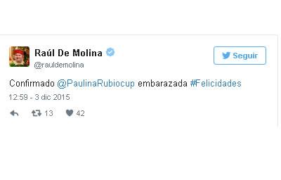 Paulina Rubio esta embarazada