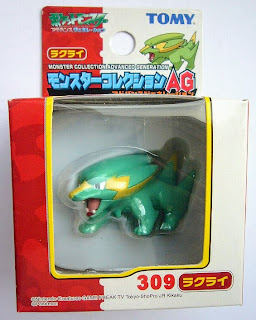 Electrike Pokemon figure Tomy Monster Collection AG package series
