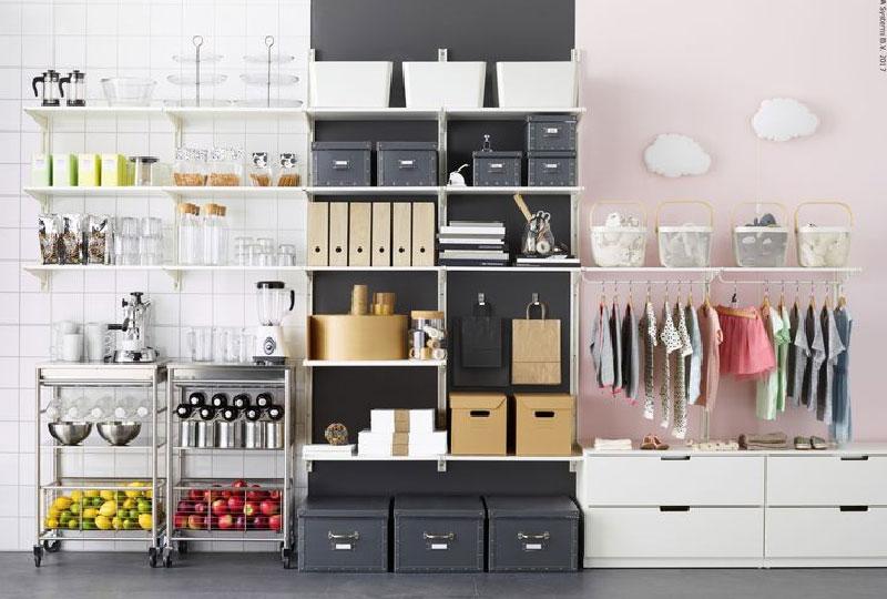 Arredare Cabina Armadio Ikea.Algot Di Ikea Tante Soluzioni Per La Tua Casa Freestanding