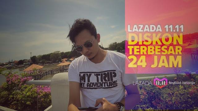 Festival Belanja Lazada 11.11 diskon 24 jam