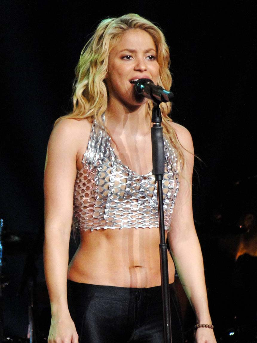 Shakira Shakira Belly Pictures