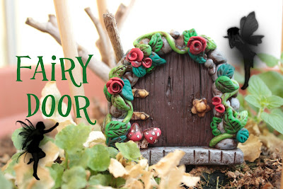 Porta delle Fate in FIMO - FAIRY DOOR | Sissy's Creations