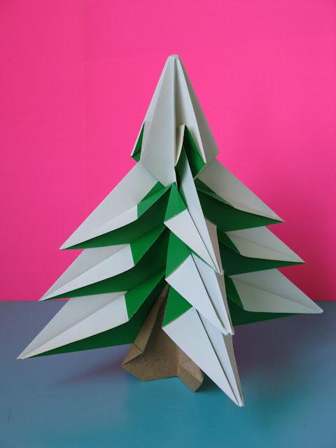 Origami Abete - Fir tree by © by Francesco Guarnieri