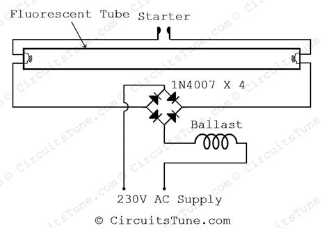 Tube Light Ckt Diagram Explained Wiring Diagrams