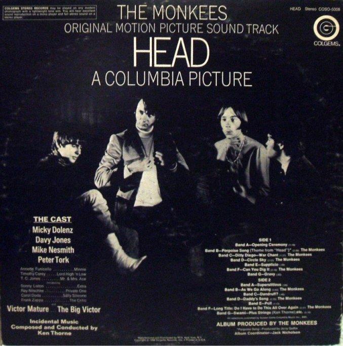 Vinyl Exam Head The Monkees