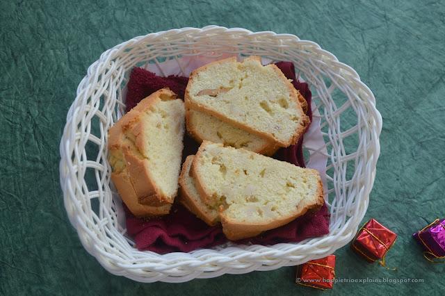 Cashew pound cake