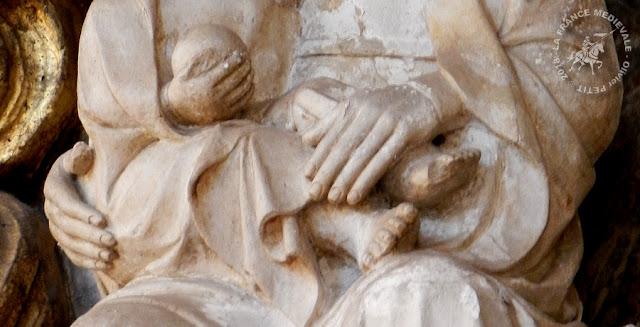NANCY (54) - Statue Notre-Dame de Bonne Nouvelle (XVe siècle)