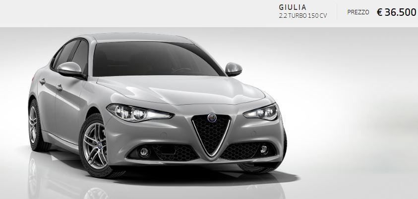 Alfa Romeo Giulia colore Metallizzato-Grigio Silverstone