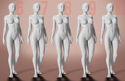 LY Flower Girls HD Bodies and Faces for Genesis 3 Female