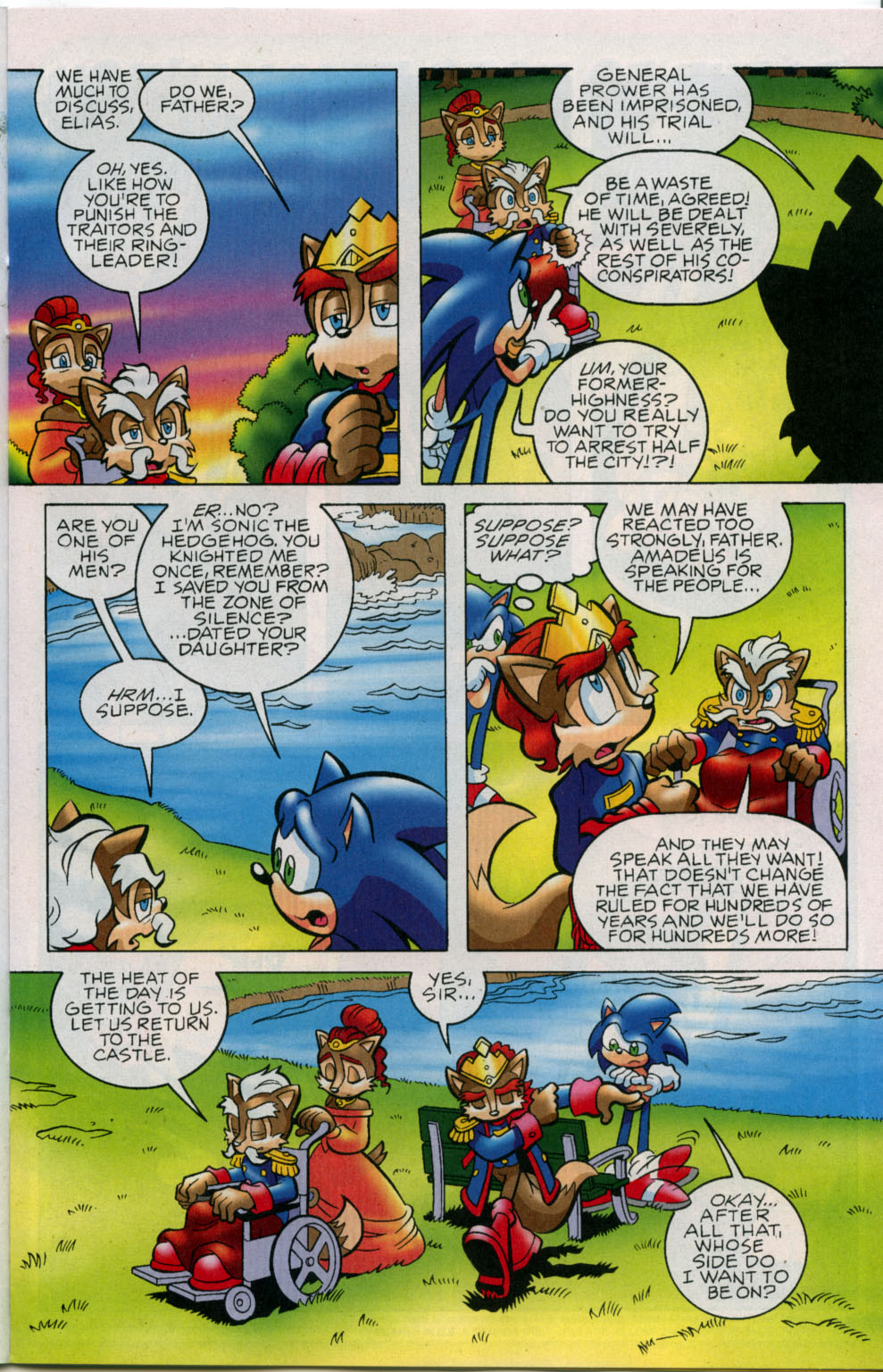Read online Sonic The Hedgehog comic -  Issue #178 - 10