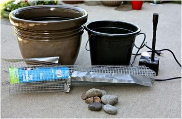 cmo hacer una fuente para el patio jardn como hago una fuente de agua