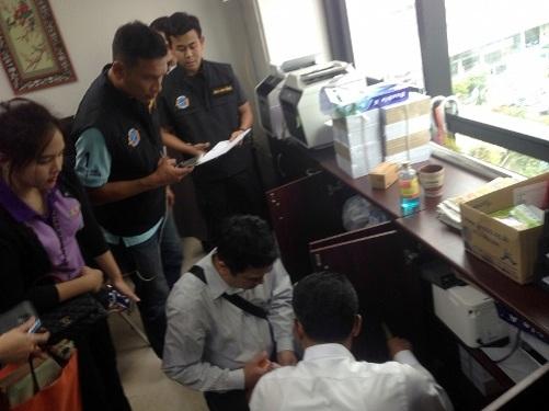 Công ty du lịch của Trung Quốc giả mạo Thái Lan bị 'xử đẹp' Canh-sat-dieu-tra-cty-du-lich-080816