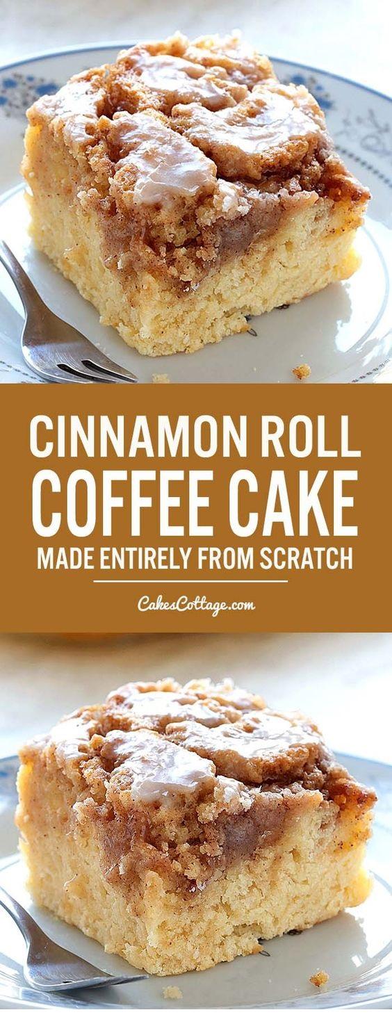 Easy Cinnamon Roll Coffee Cake