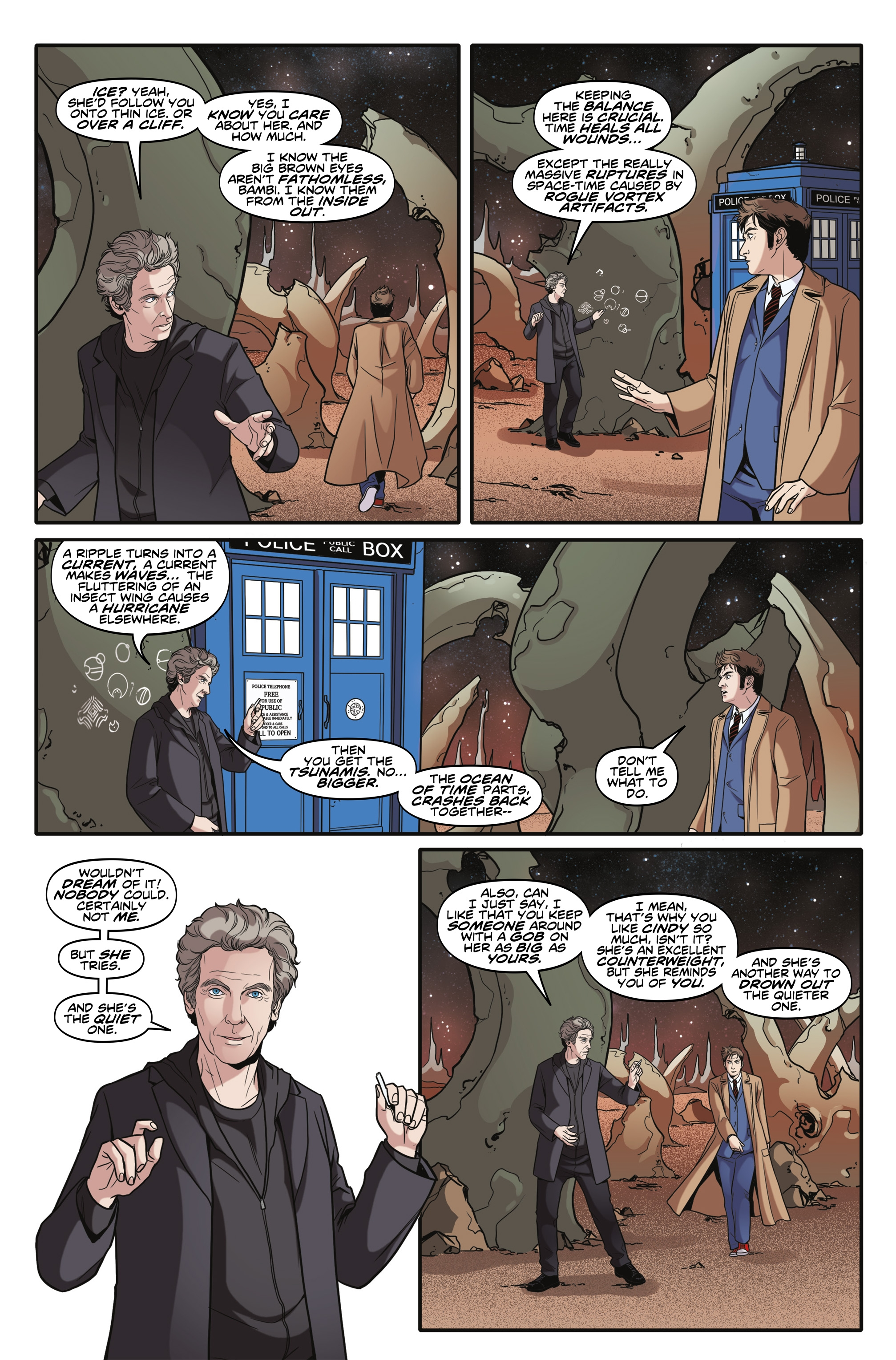 Read online Doctor Who: The Tenth Doctor Year Three comic -  Issue #6 - 22
