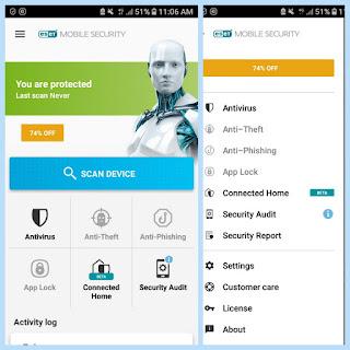 Esset mobile security & Antivirus