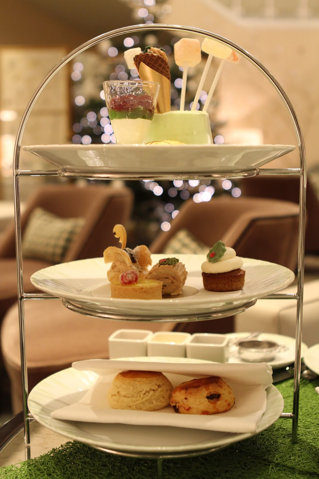 Park tower festive afternoon tea