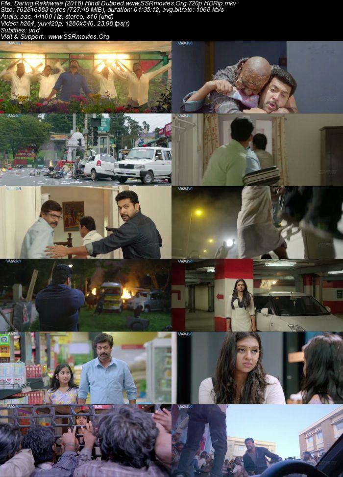 Daring Rakhwala 2018 Hindi Dubbed 720p Hdrip 700mb Ssr Movies