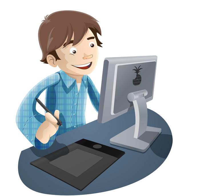 Image result for gambar komputer animasi