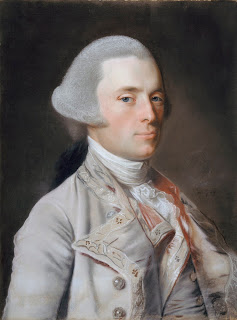 A painted portrait of John Wentworth.