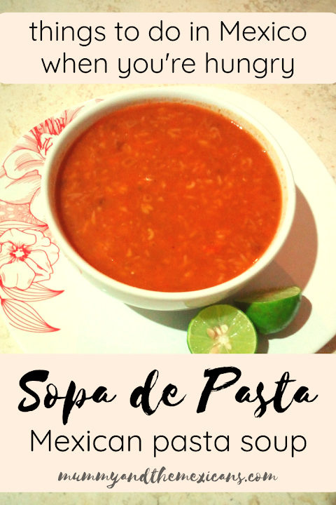 A quick and easy recipe for Sopa de Pasta, a classic Mexican soup