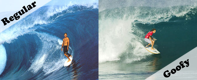Surfer goofy