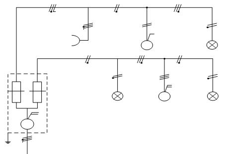 praktikum instalasi listrik penerangan  pemasangan