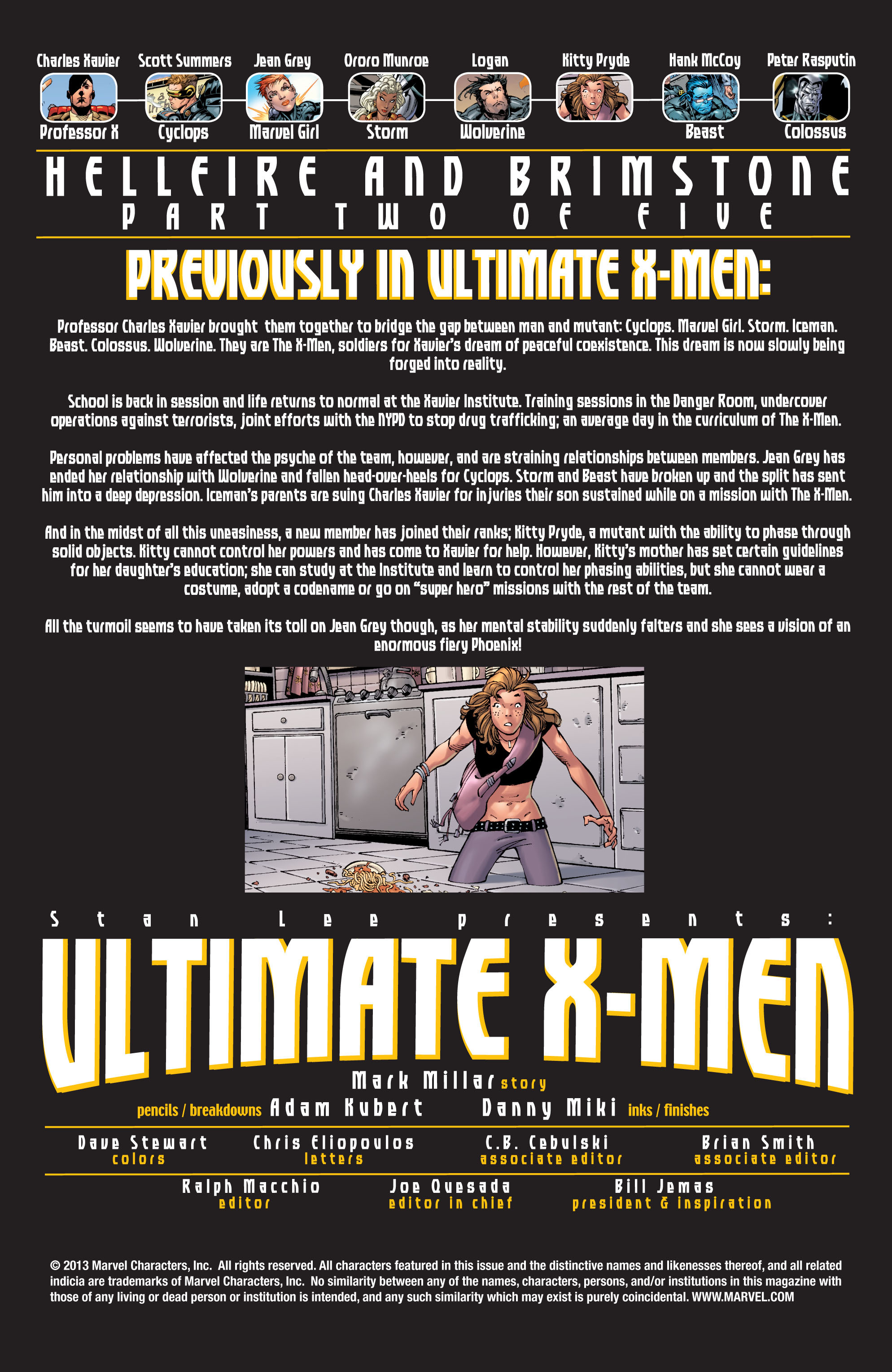 Read online Ultimate X-Men comic -  Issue #22 - 2