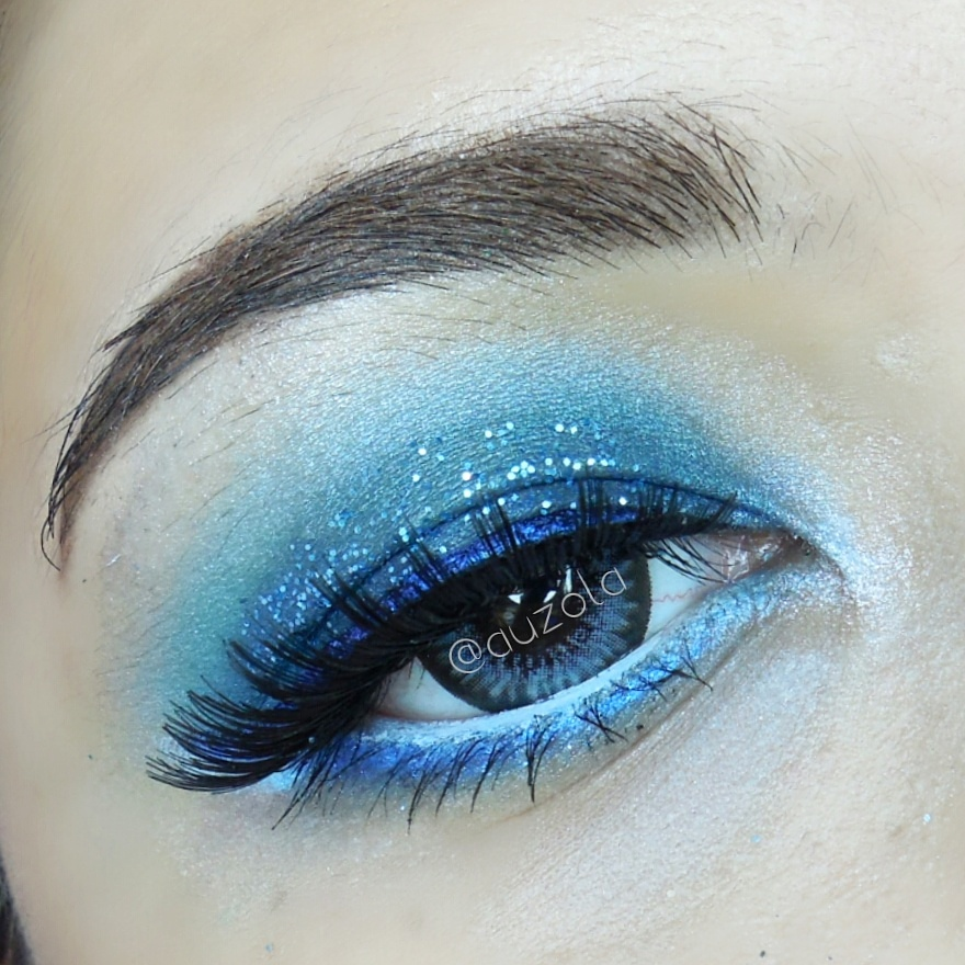 Inside Out, Sadness - Eye Makeup Inspiration