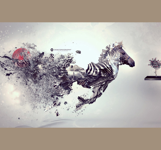 Imagens mais incrivelmente editadas - Deu zebra