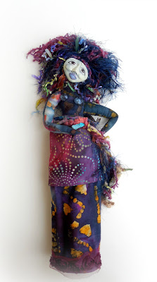 Messy Perfection an OOAK Spirit Doll Wisdom Keeper by Jeanne Fry