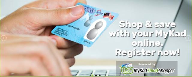 Program Mykad Smart Shopper Versi Online