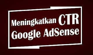Memasang unit iklan tautan dapat meningkatkan CTR AdSense.
