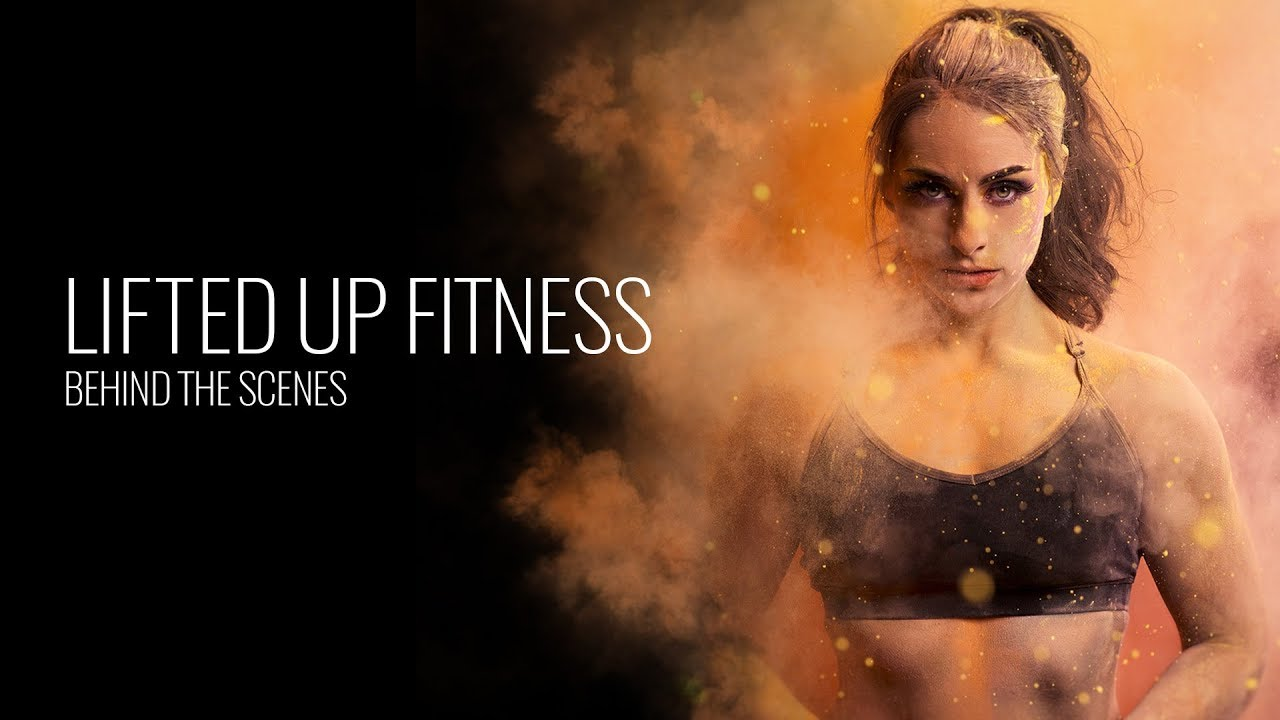 "Behind the Scenes ""Lifted Up Fitness X Elinchrom"""