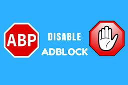 Cara Memasang Kode Script Anti AdBlock Pada Blog
