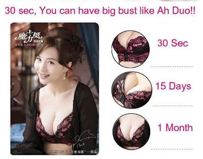 Eve Magic Bra BH Khusus untuk membuat payudara indah nyaman sehat besar dan kencang