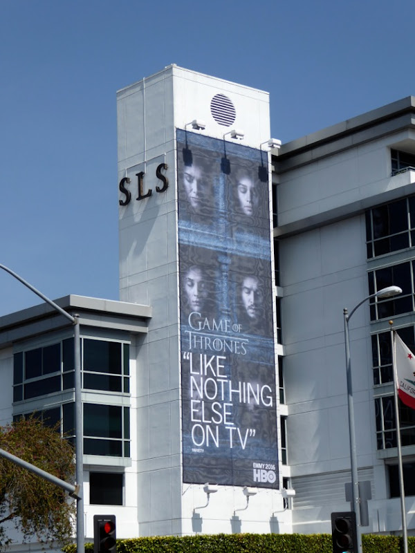 Game of Thrones season 6 HBO Emmy 2016 billboard